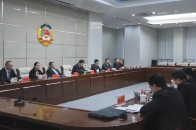政协二连浩特市第八届委员会召开党员委员会议