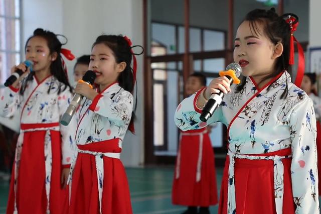 阿尔山市第一民族小学举办2020年校园文化节