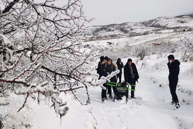 内蒙古电信人战风斗雪 全力抗雪救灾保通信