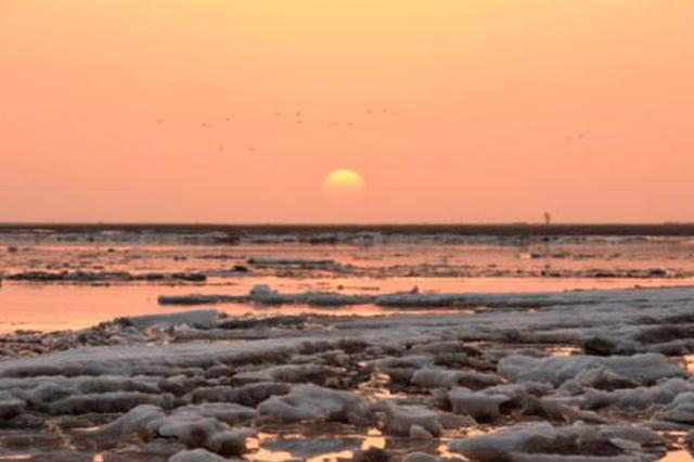 内蒙古河段出现流凌 黄河正式进入本年度凌汛期