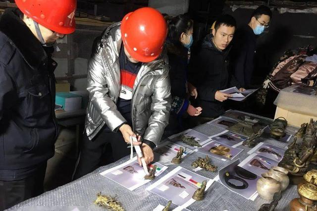 通辽市博物馆77件(套) 馆藏青铜文物入库验收