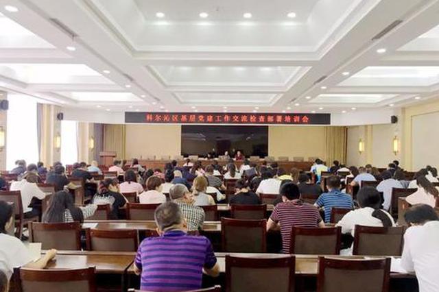 通辽科尔沁区预警企业党建问题 整改完结率达百分百