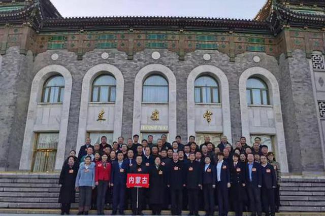 2020年内蒙古全国劳模和先进工作者在北京接受表彰