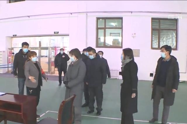 布小林在内蒙古满洲里市调研疫情防控工作