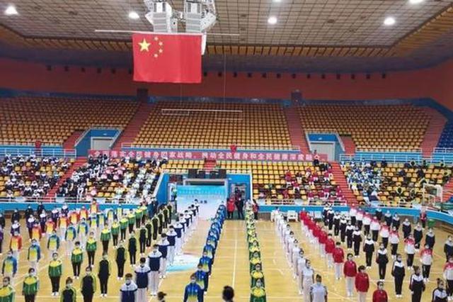 二连浩特市代表队再获内蒙古广播体操大赛一等奖