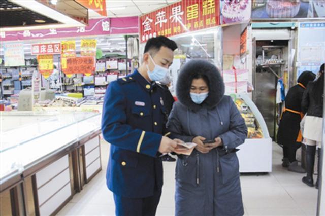 """通辽市:消防宣传进商场 消防安全不""""打折"""""""
