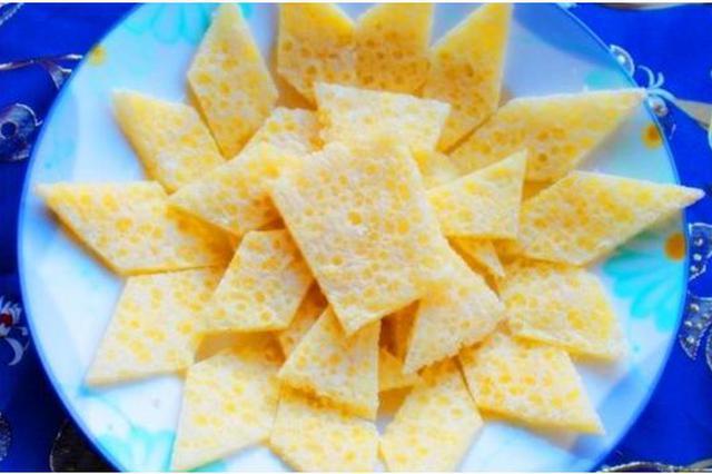 爱上内蒙古   锡林郭勒的特产美食 ——奶皮子