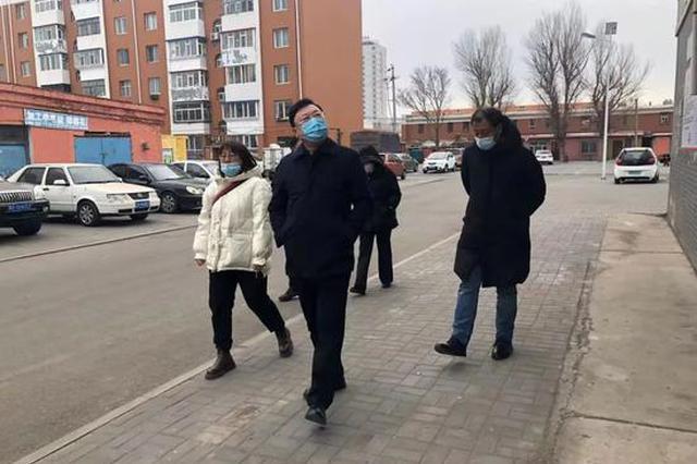 通辽市文化旅游广电局党组书记在包联社区调研