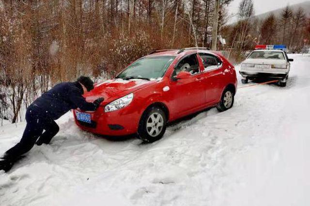 內蒙古額爾古納市:普降大雪全力救援守護平安