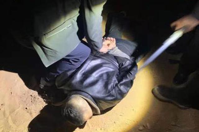 盗羊团伙冲卡拒捕 内蒙古警方追击10公里终擒贼