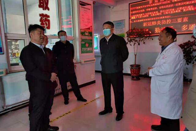 內蒙古自治區衛生健康委體改處調研豐鎮市縣域綜合改革工作