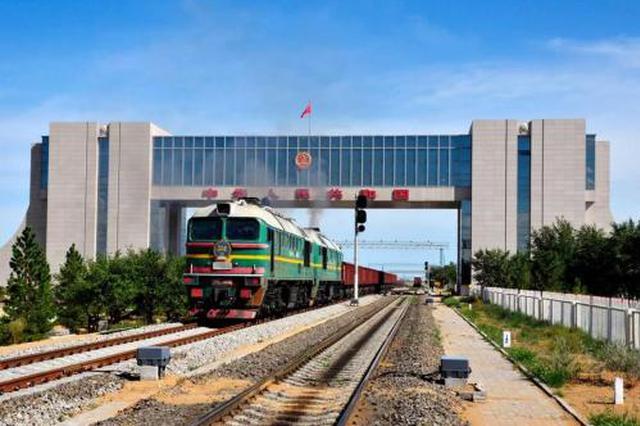 """内蒙古:150辆国产汽车""""乘""""中欧班列前往俄罗斯"""