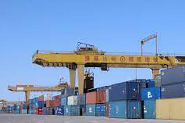 中国最大陆路口岸进出境中欧班列突破1万列