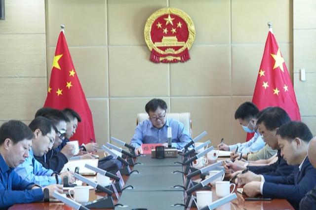 科尔沁区政府召开新冠肺炎防控指挥部工作调度会议