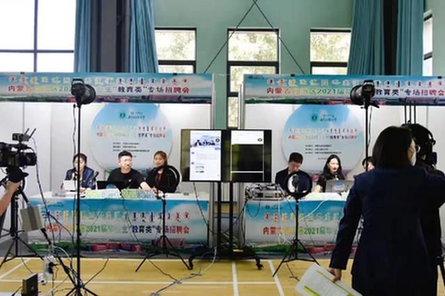 """内蒙古2021届毕业生""""教育类""""专场招聘会举办"""