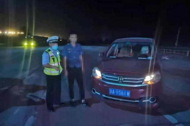 鄂尔多斯:一驾驶员实习期酒驾被查获