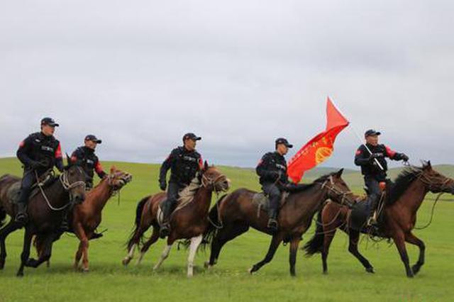 内蒙古自治区中俄边境特警骑巡队:无死角的守护