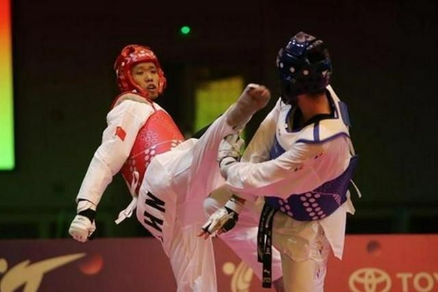 中国跆拳道选手孙宏义:期望在奥运会上成为一匹黑马