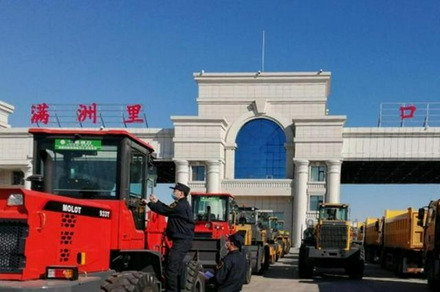价值5亿元 今年上半年中国最大陆路口岸汽车出口倍增
