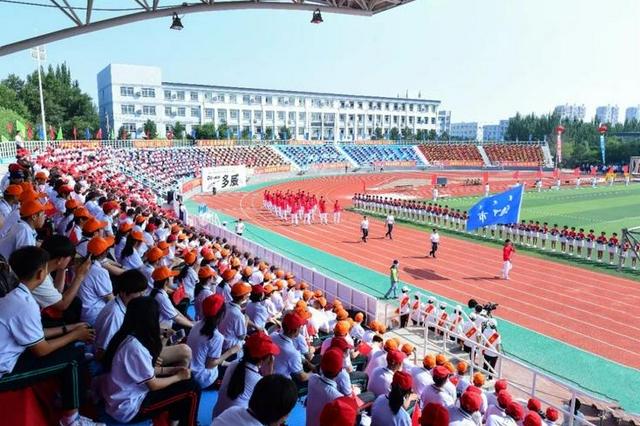 内蒙古自治区第十五届中学生运动会开幕