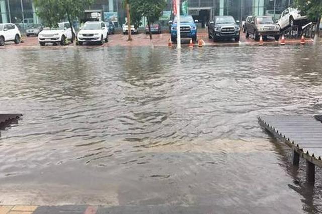 通辽市多部门联动积极应对入夏最强降水