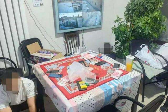 內蒙古警方端掉一賭博窩點 收繳賭資46800元