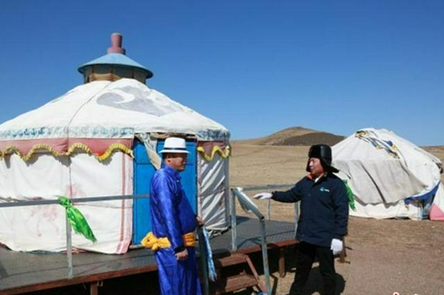 """搬進蒙古包看電視 內蒙古大草原""""點亮""""幸福生活"""
