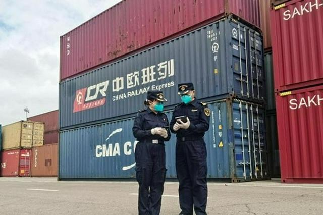 8月中國最大陸路口岸進出境中歐班列貨值超33億元