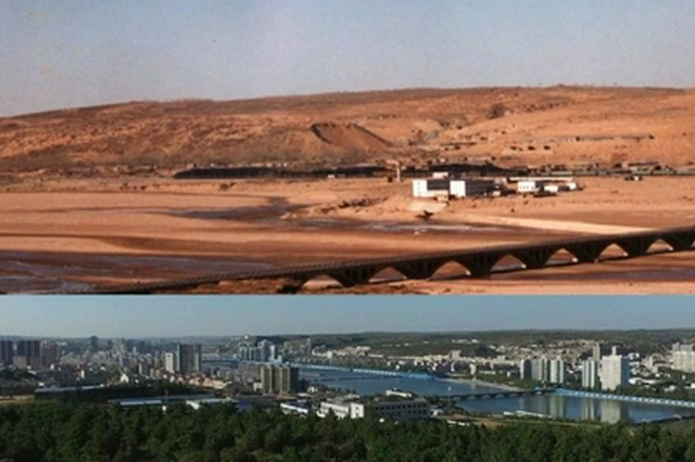 内蒙古鄂尔多斯市:矿山上开出绿色发展之花