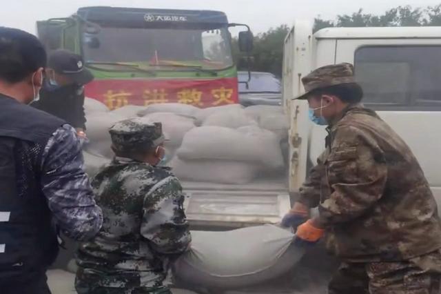 内蒙古救援队抵达山西吕梁地区开展抢险救援