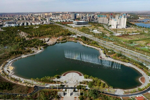 内蒙古伊金霍洛旗:推进疏干水综合利用 美化城市