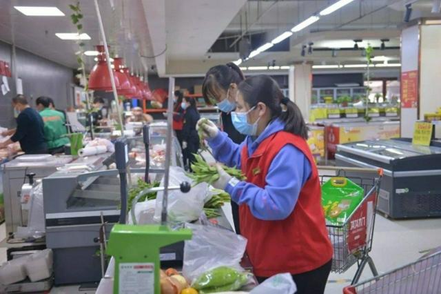 锡林郭勒盟二连浩特市做好疫情期间物资供应