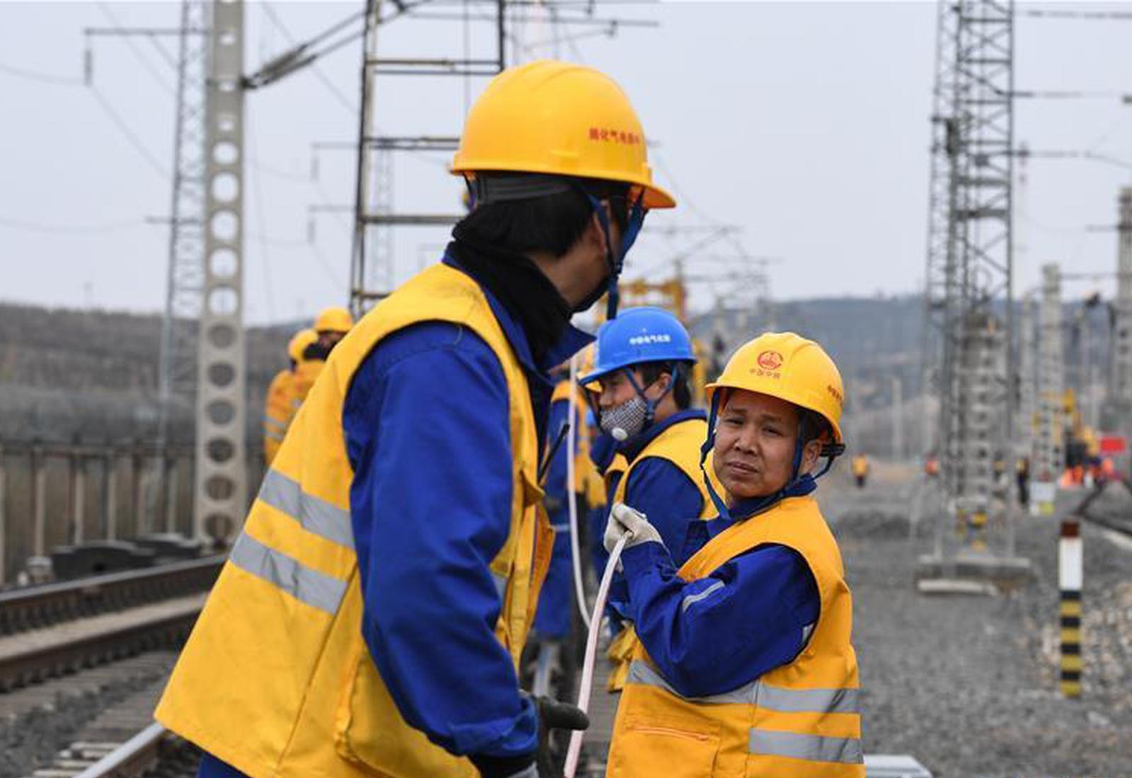 唐呼线升级改造 年运量可达亿吨