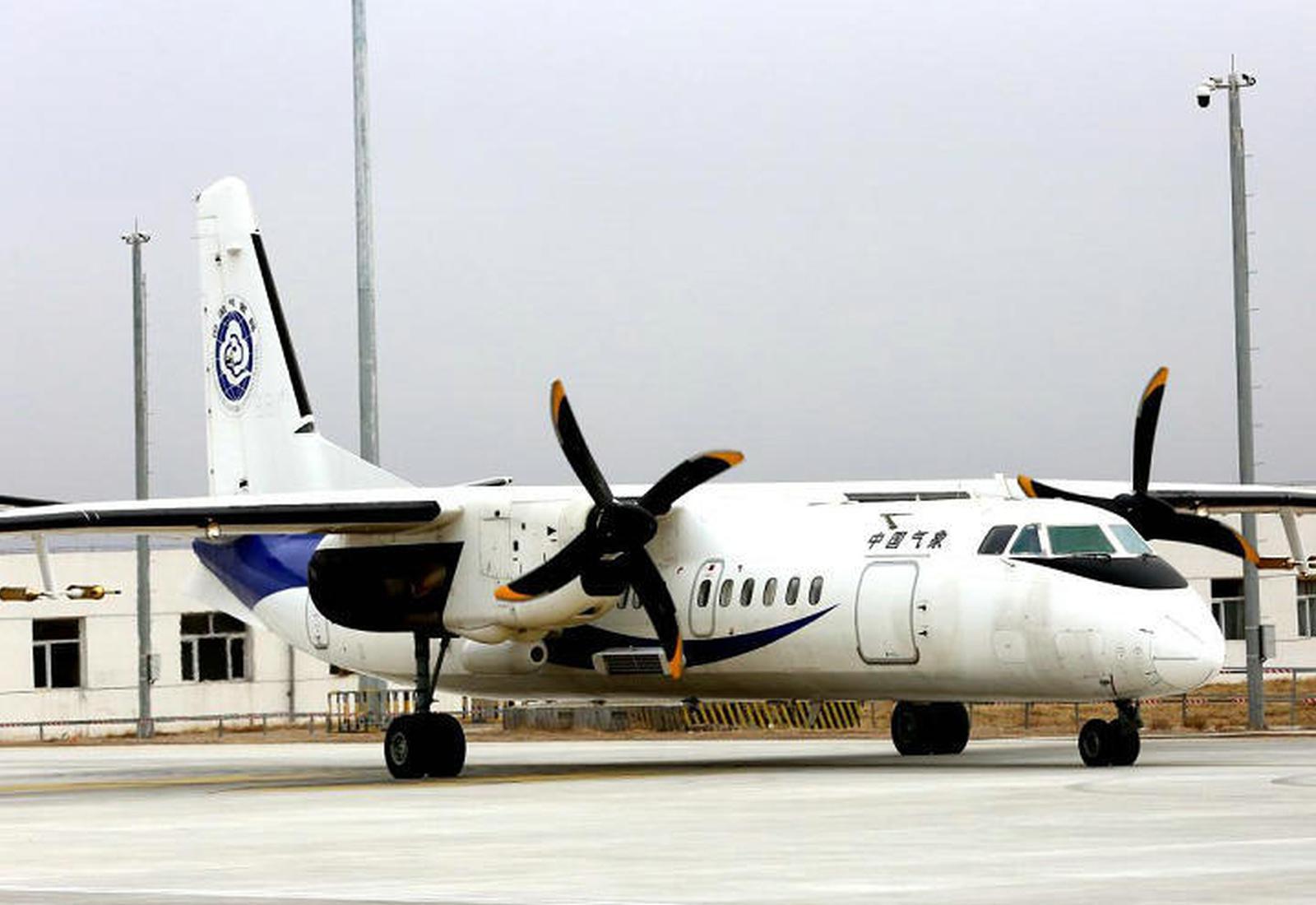 增雨神器将润田地 新舟60飞机来了