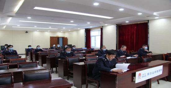 国家税务总局阿尔山市税务 开展防控知识讲座