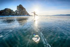 蓝冰贝加尔 春天的翡翠之海