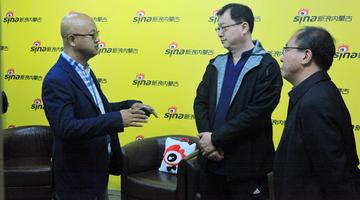 赤峰市委宣传部领导莅临新浪内蒙古