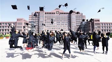 毕业季定格青春岁月