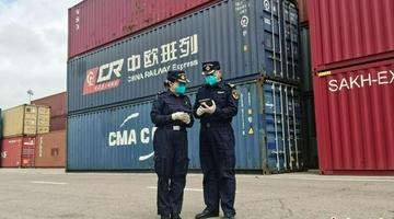8月中国最大陆路口岸进出境货值超33亿元