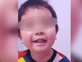 赛白努男孩寄语内蒙古医疗队