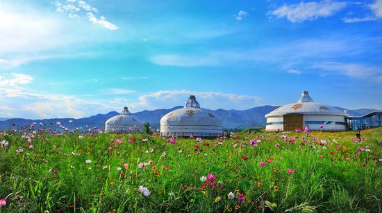 内蒙古网红打卡地 丨 敕勒川草原欢迎您