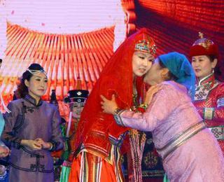 民族风情 察哈尔蒙古族婚礼
