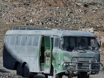内蒙古一矿业公司运送车发生事故