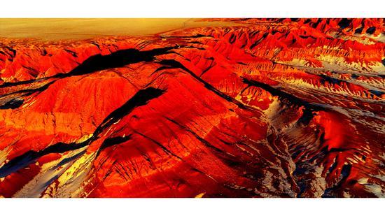 内蒙古网红打卡地 丨 自驾游的绝佳去处大红山