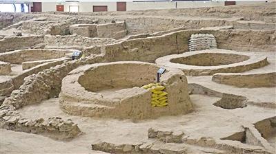 发掘出来的房屋建筑
