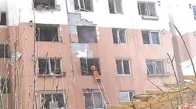 很多居民家受损严重(网友拍摄)