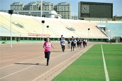 跑步项目测试。