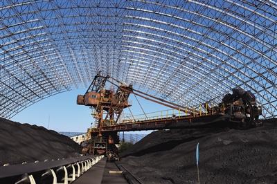 封闭煤场保证蓝天