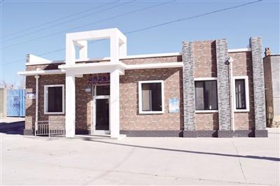 前八里庄村的公共卫生间