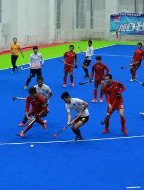 全国男子曲棍球锦标赛内蒙古队获得亚军